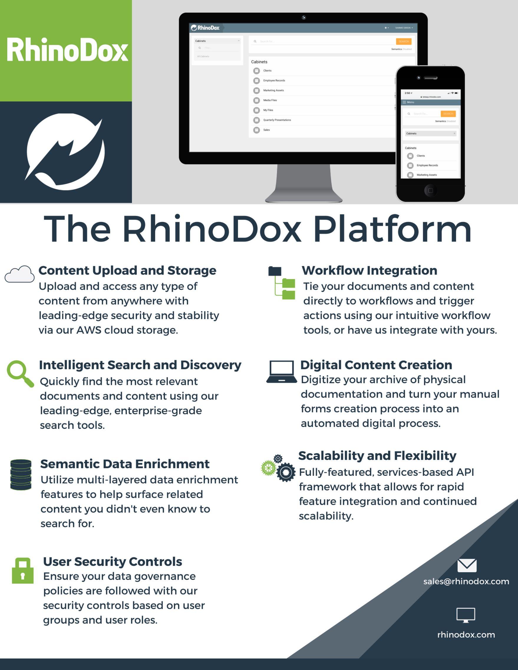 The RhinoDox Platform