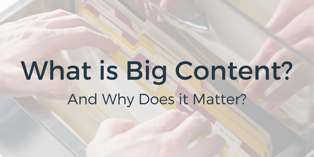 Blog Header_What is Big Content?_7/6